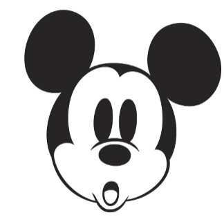 Black and White Mickey