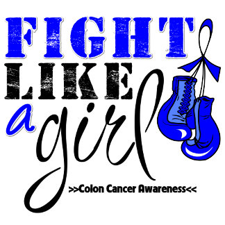 Colon Cancer Awareness Fight Like a Girl