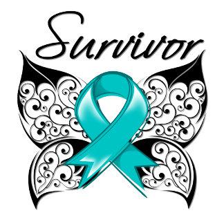 Ovarian Cancer Survivor Butterfly
