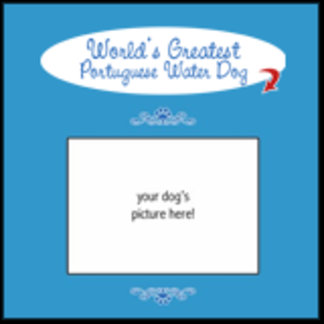 Personalized World's Greatest Portuguese Water Dog
