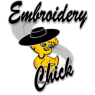 Embroidery Chick #4