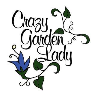 Crazy Garden Lady