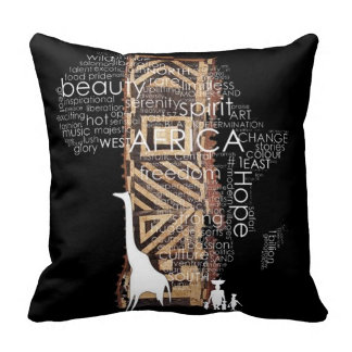 African Design Pillows and More