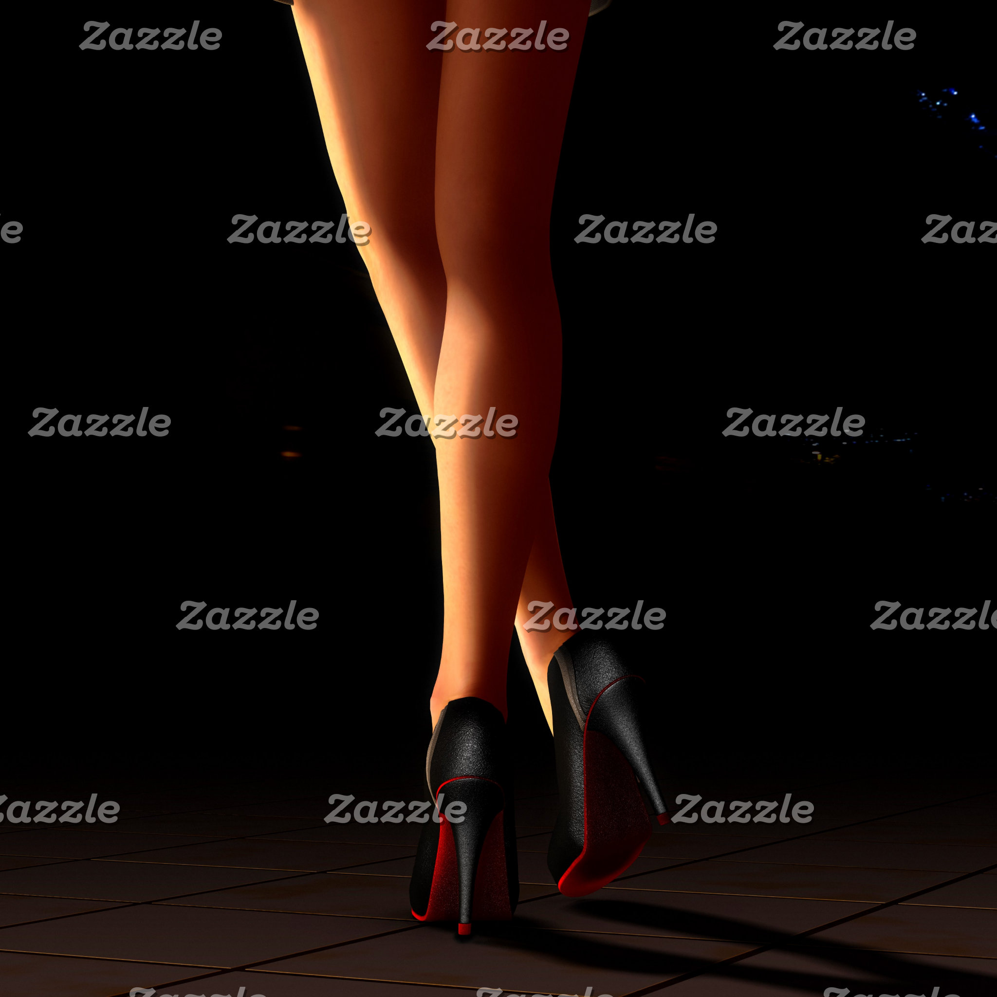 Legs on Heels