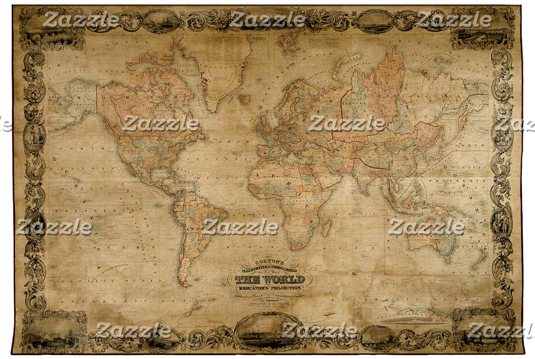 Maps on Clocks