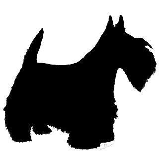 Standing Scottish Terrier Silhouette