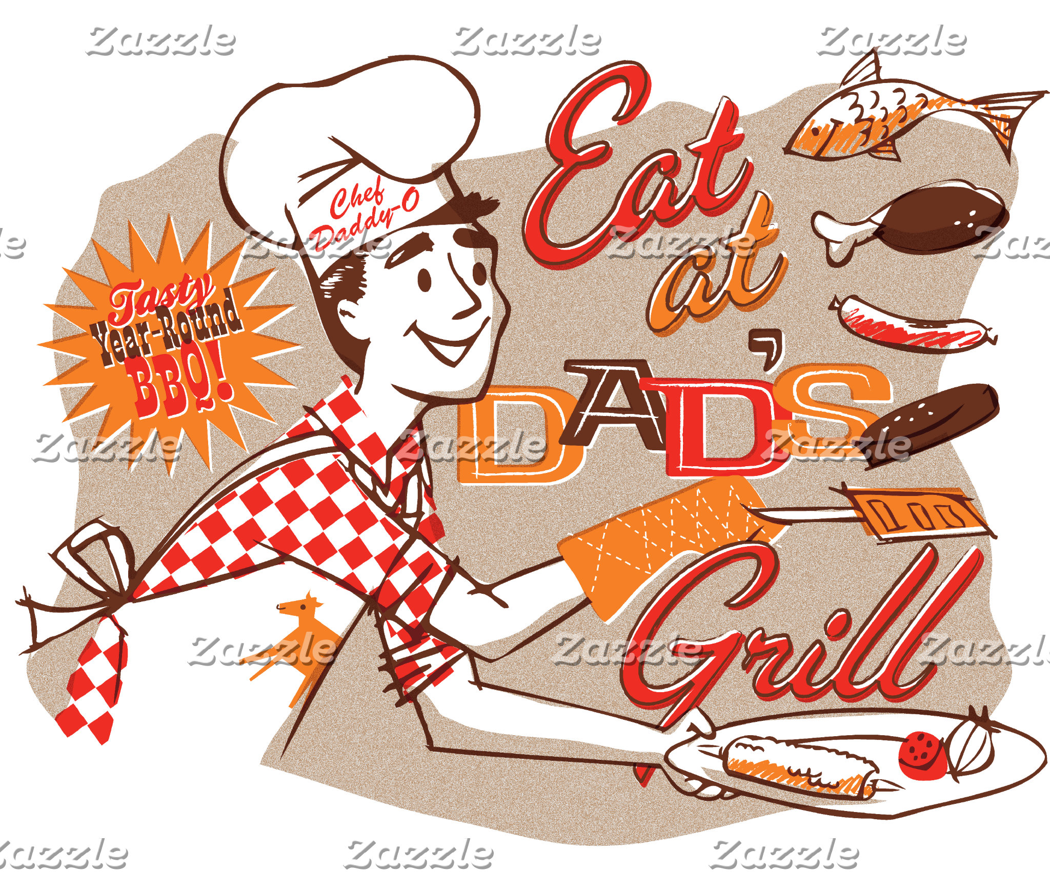 Dad's Grill - Great for Father's Day!
