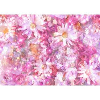 Pink Pastel Daisies