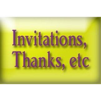 Invitations/Announcements