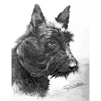 Vintage Scottish Terrier art