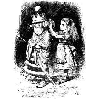 Alice with the White Queen
