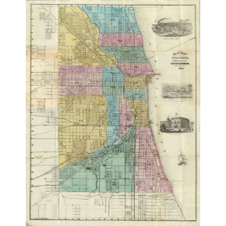 Guide Map of Chicago