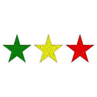 3 STARS REGGAE T-Shirts
