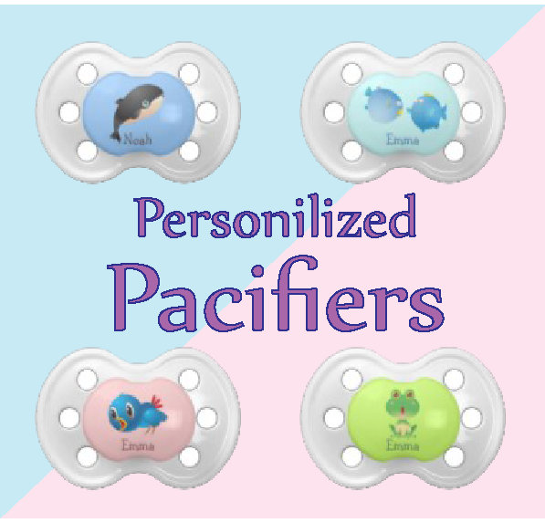 Baby Pacifiers Binkies - Personalize It.