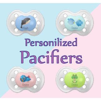 Baby Pacifiers Binkies - Personalize It.