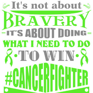 Lymphoma Not About Bravery