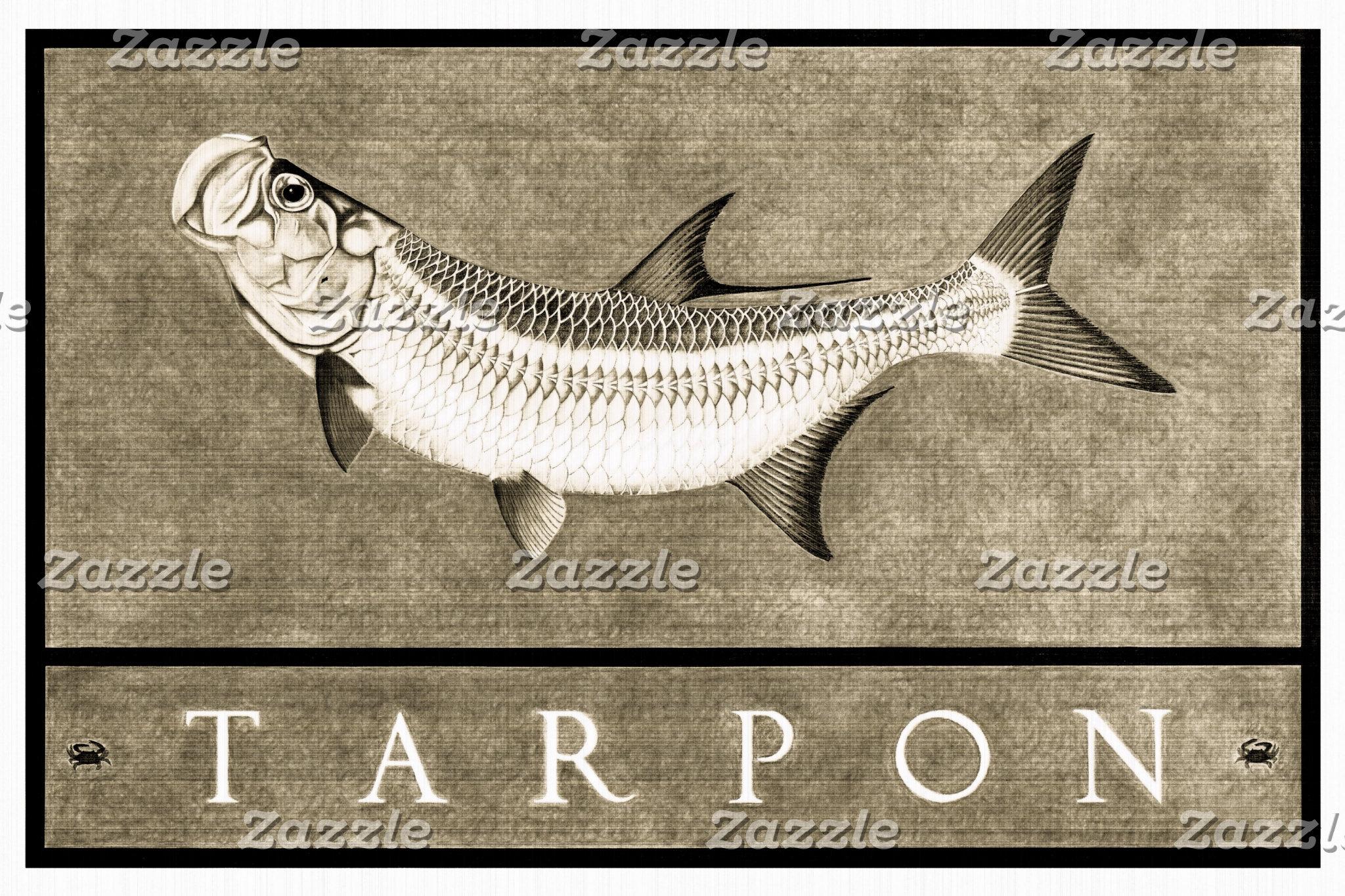 Tarpon Vintage Black & White