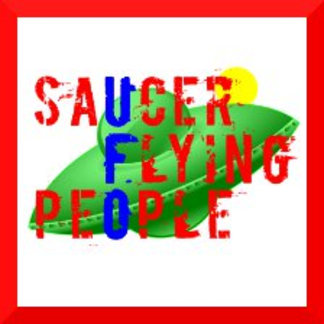 Saucer Flying People