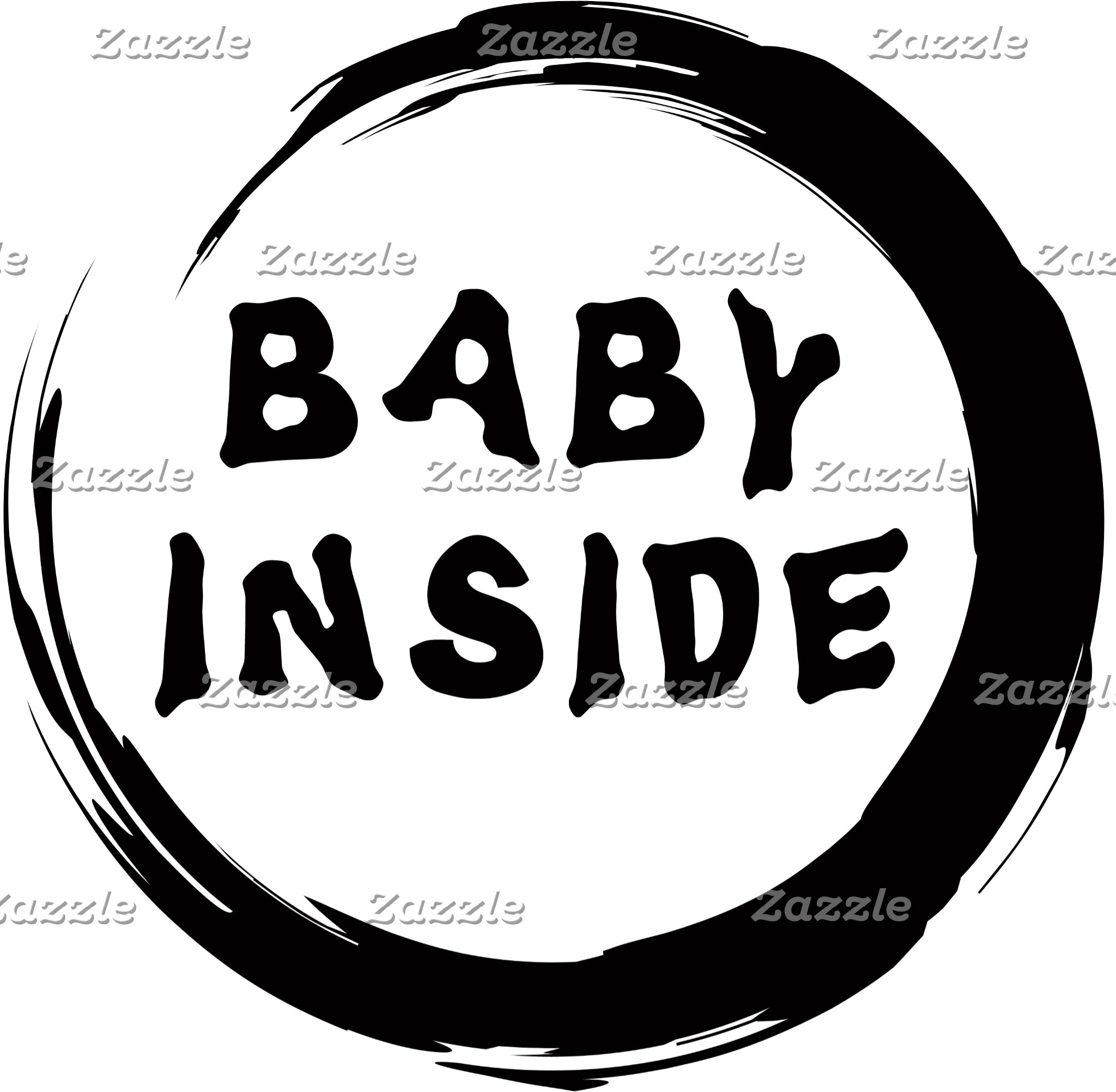 Baby Inside Maternity T-Shirt Gift Cards