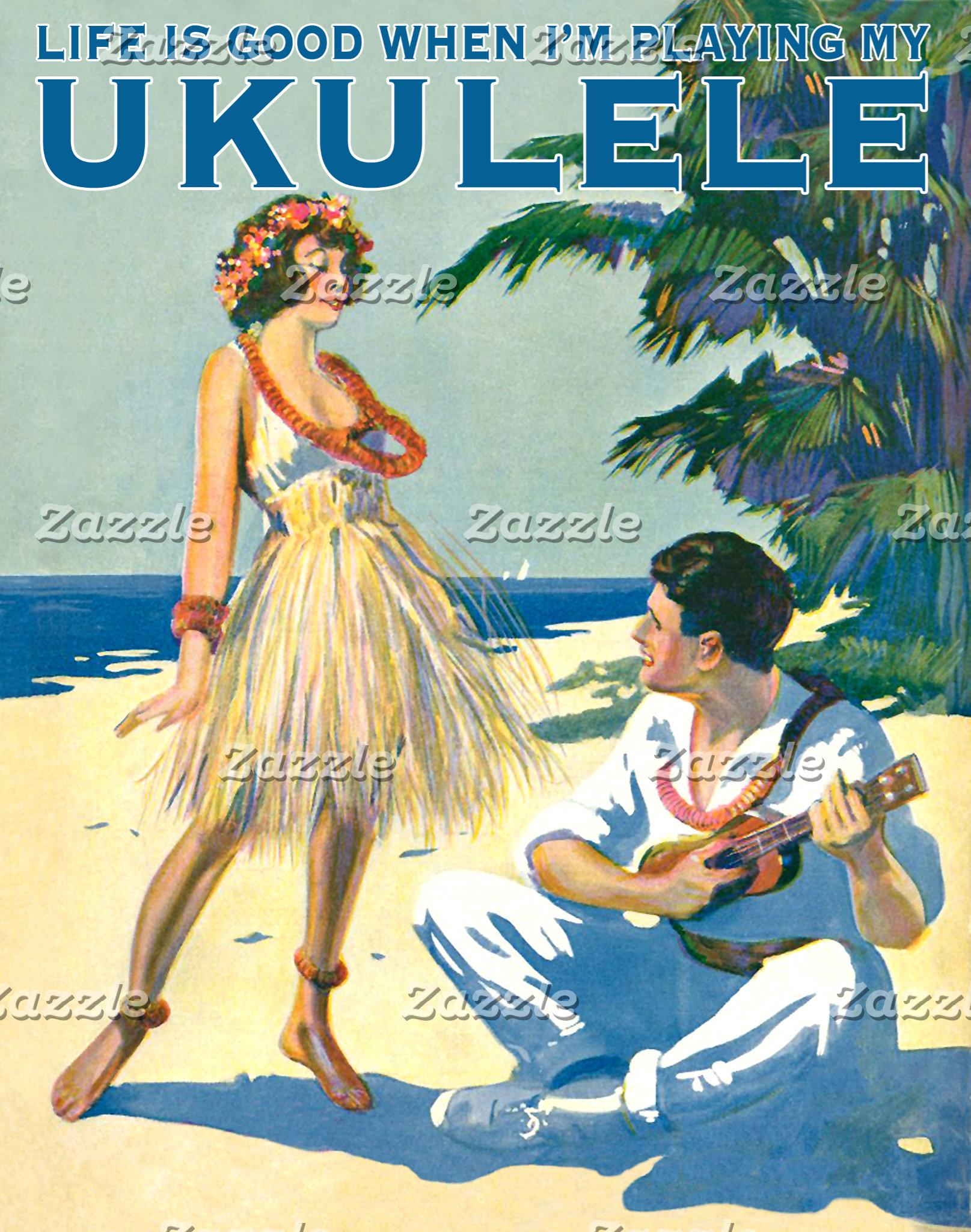 Life is good when I'm playing my Ukulele! #2