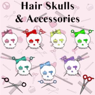 Hair Skulls & Accessories
