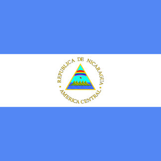 Nicaragua High quality Flag