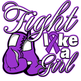 Leiomyosarcoma Fight Like A Girl GLOVES ON