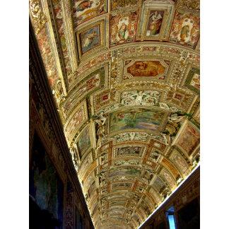 Ceiling in Vatican Museum ~ Rome, Italy