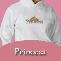 PRINCESS Embroidered Apparel