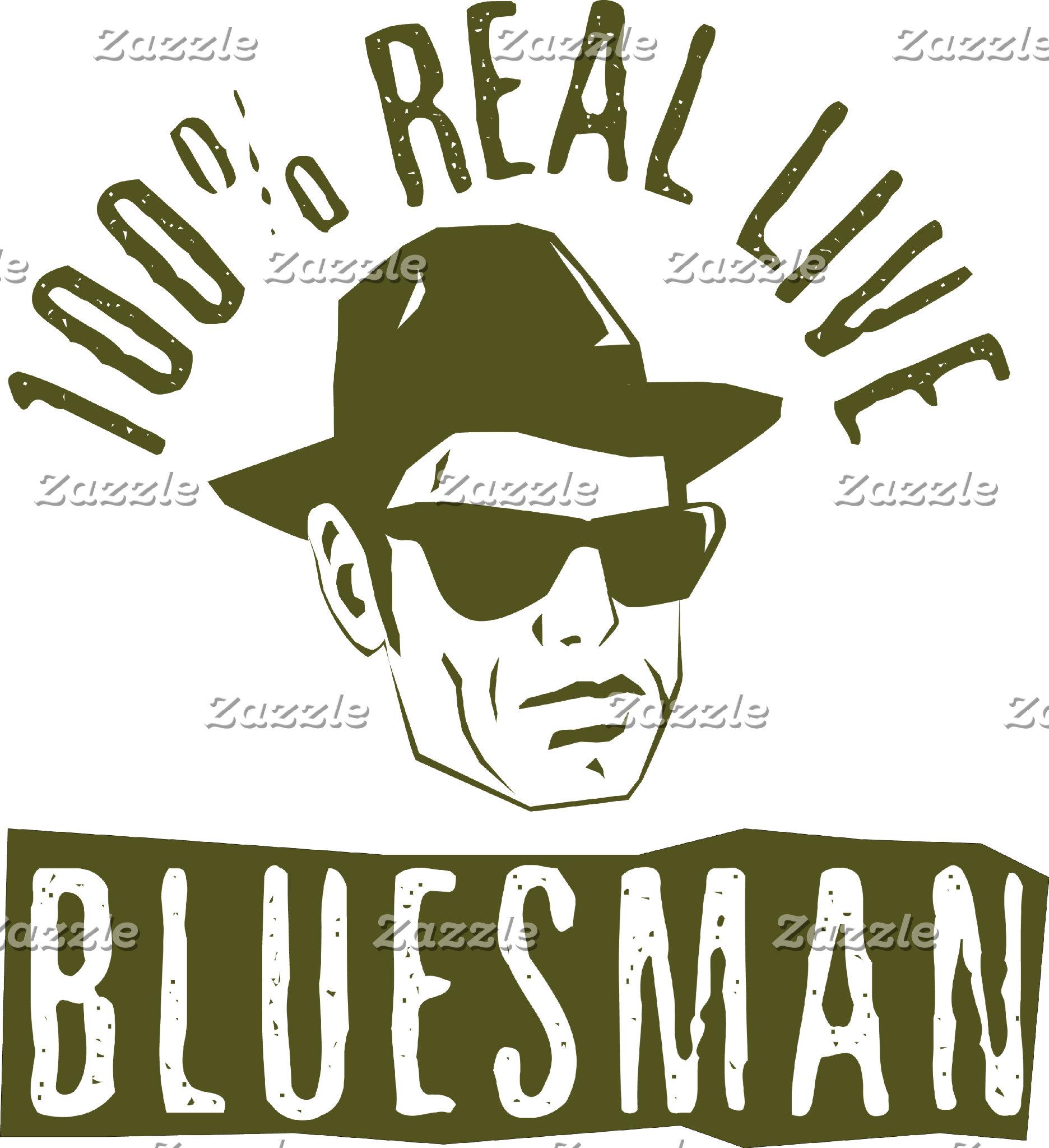 100% Real Live Bluesman
