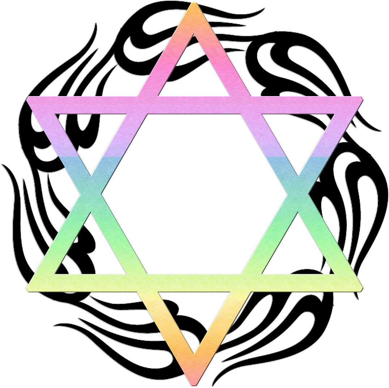 Jewish Star Colors