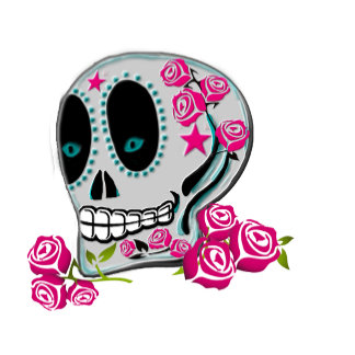 Airbrush Style Sugar Skull
