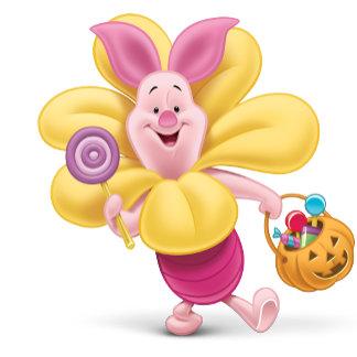 Piglet in Flower Costume