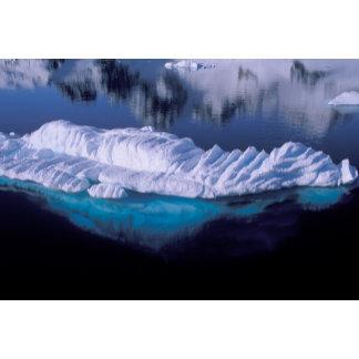 Antarctica, Paradise Bay. Iceberg in crystal