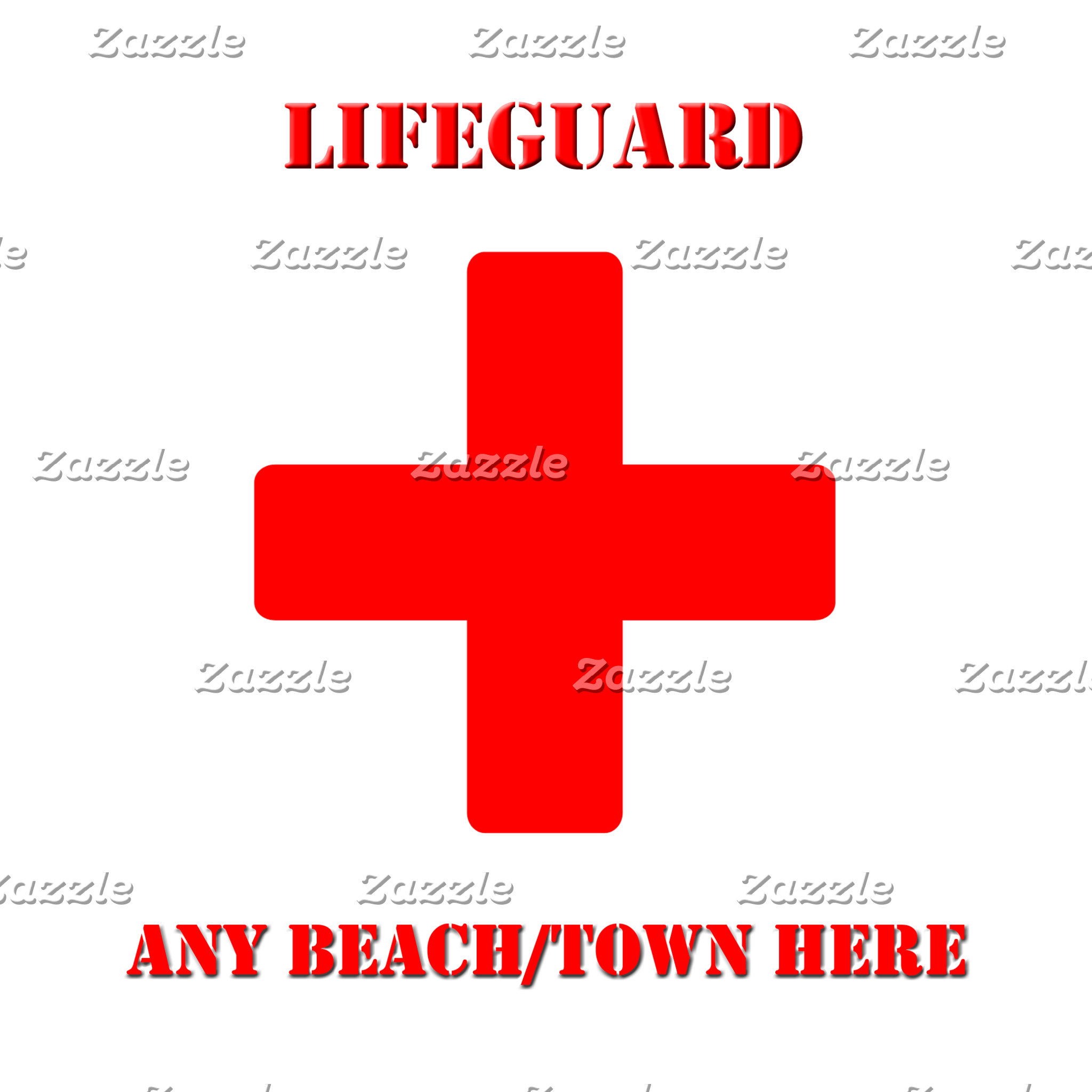 Customizable Lifeguard Items