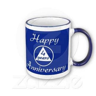 Anniversary Mugs! Happy, Joyous, and Free