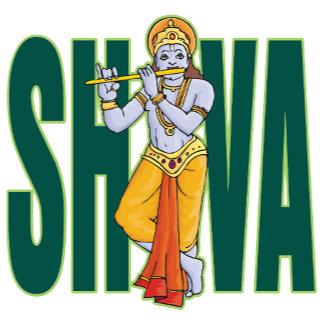 Shiva playing Flute