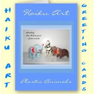 Haiku Art Greeting Cards
