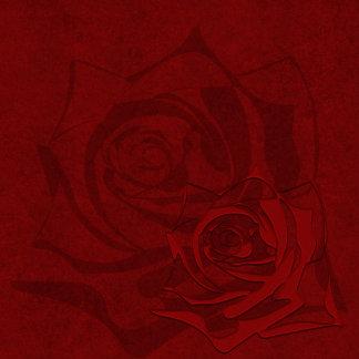 Damask Blood Red   8