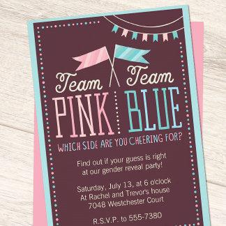 Team Pink or Team Blue Baby Shower Suite