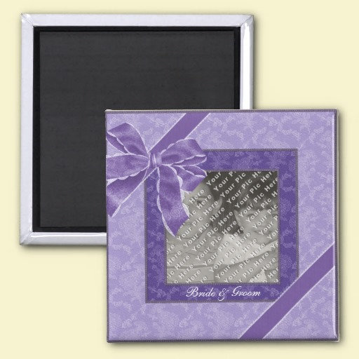 Save the Date: Picture Frame Magnets