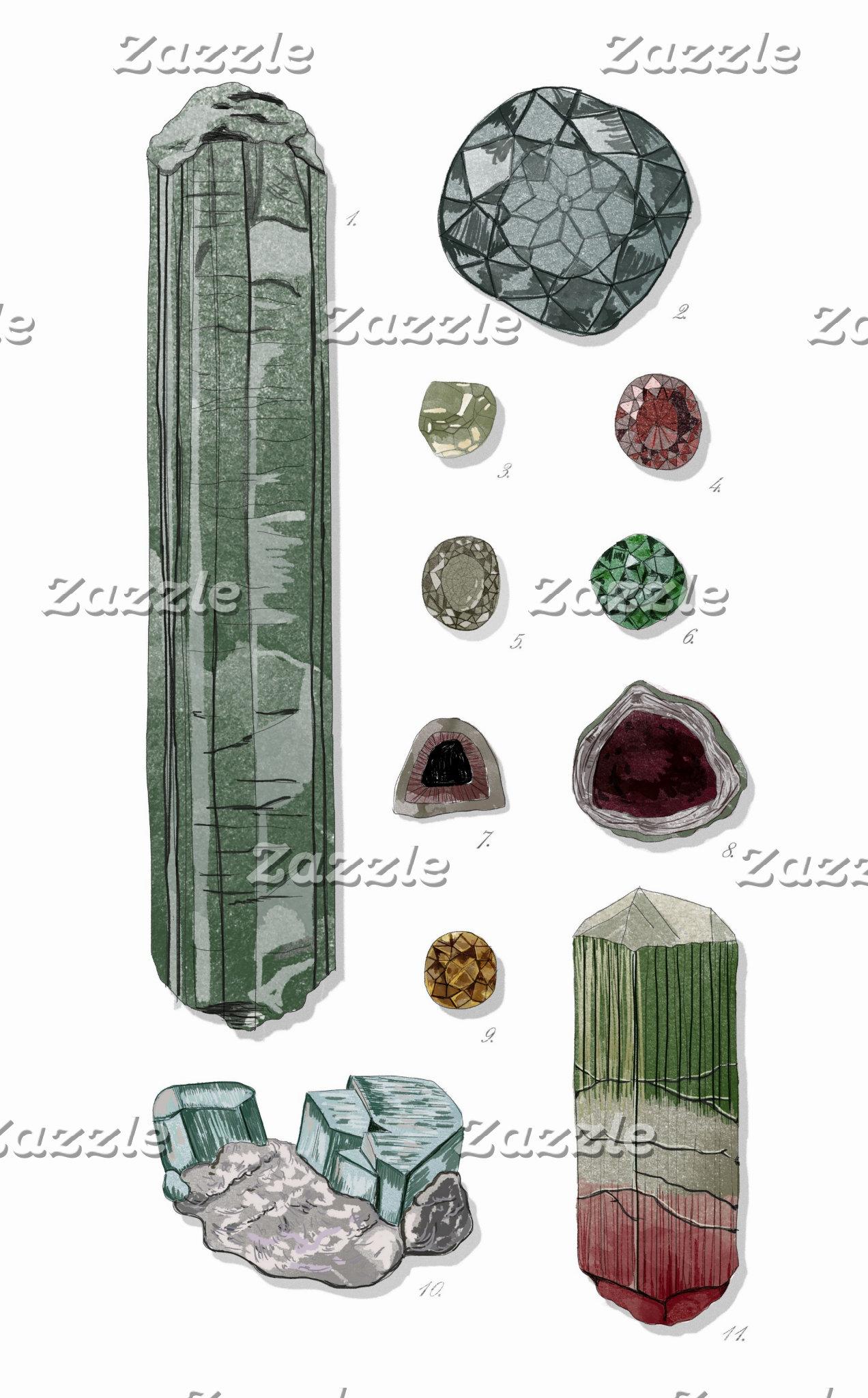 Minerals & Gems Vol.1