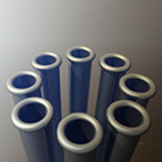 Eight Metallic Tubes