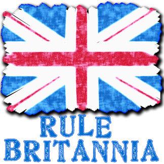 Rule Britannia Distressed Look Union Jack