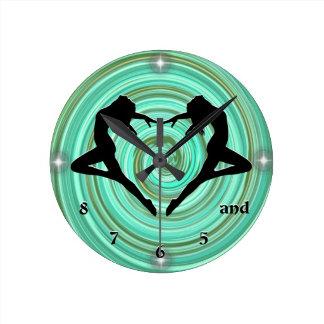 "Dancer Clock ""5 6 7 8"""