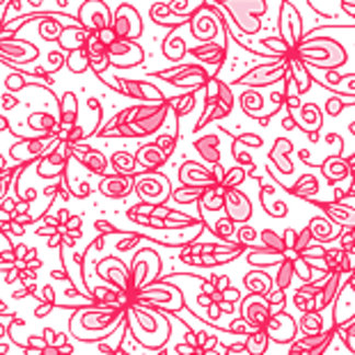 Pretty Pink Love Flowers