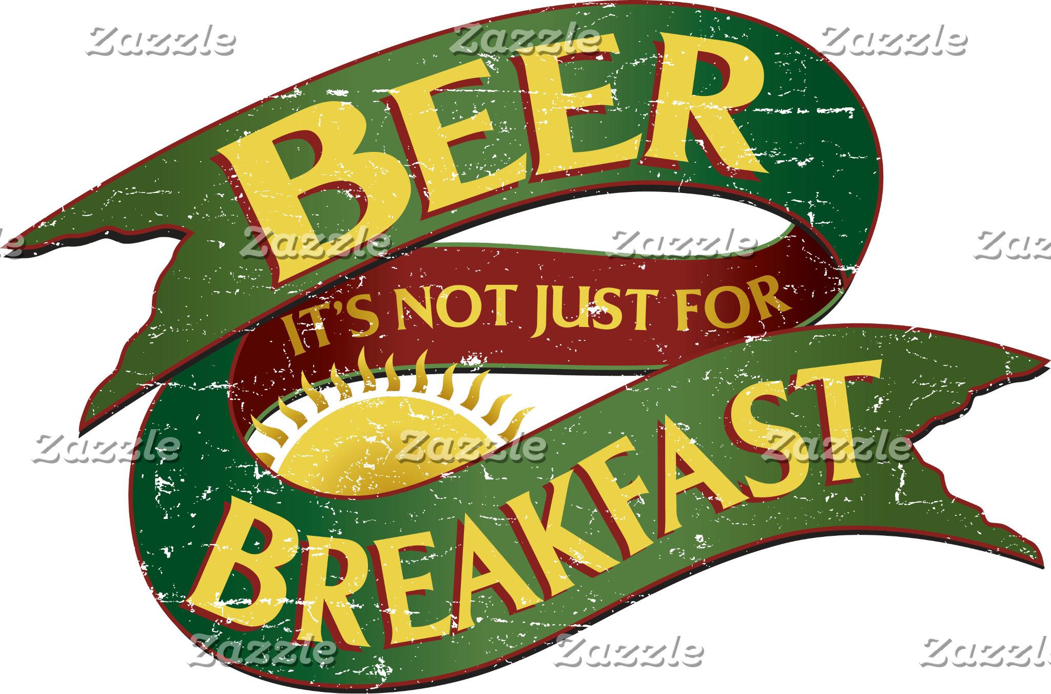 Beer It's Not Just for Breakfast