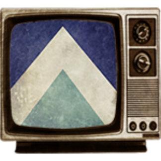 Vintage triangle pattern