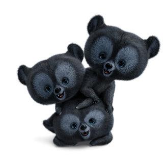 Three Bear Cubs 1