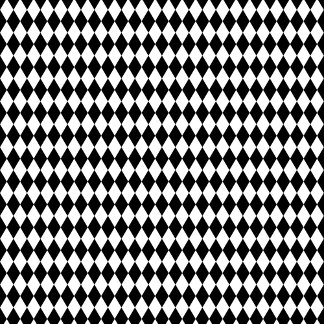 Black White Pattern ties
